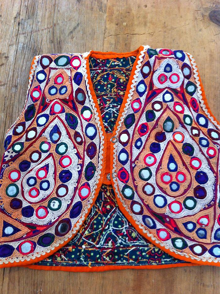 Indian beaded vest